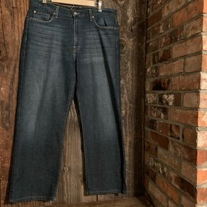 Lucky Brand 329 Classic Fit Blue Jeans Mens 36x29